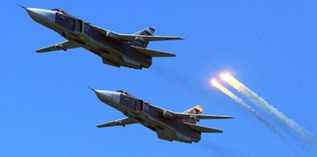 الطيران العراقي يدمر مقر قيادة لداعش داخل الاراضي السورية