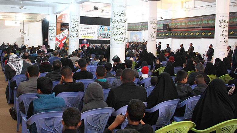 العتبة الحسينية المقدسة تكرم 153 عائلة من عوائل شهداء الحشد الشعبي