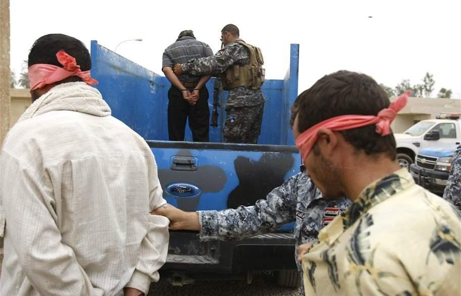 القبض على 15 مطلوباً بينهم ارهابي خطير شمالي بابل