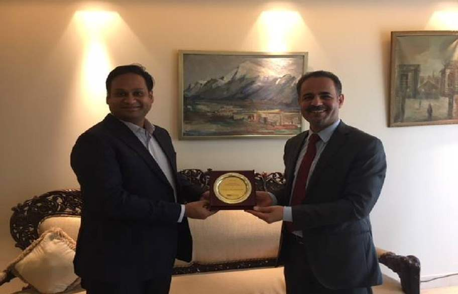 العراق والهند يناقشان تعزيز العلاقات التجارية بين البلدين