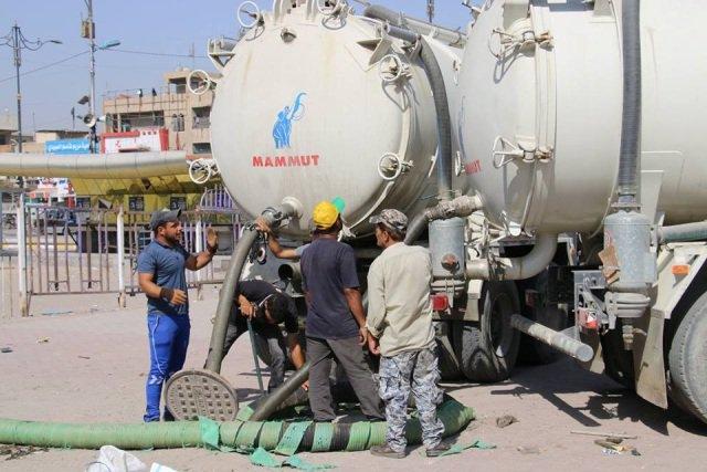 امانة بغداد تعلن تهيأة جميع محطات الصرف الصحي وآلياتها استعداداً للامطار