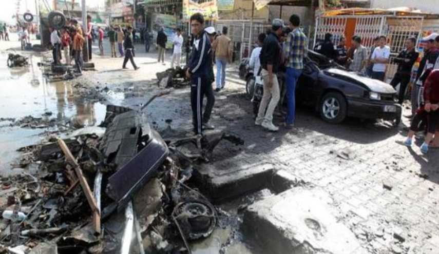 اصابة ثلاثة مدنيين بانفجار عبوة ناسفة جنوبي بغداد