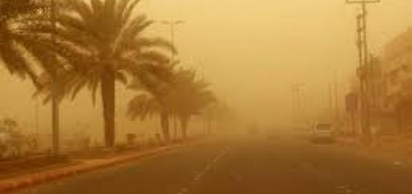 موجات غبار تشهدها مدن العراق غدا الاحد