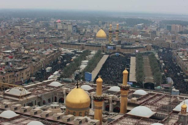 العتبة الحسينية تستخدم احدث منظومة في المنطقة لمراقبة الزيارة الشعبانية بمشاركة الحشد الشعبي