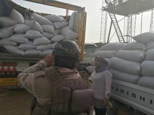 التجارة تعلن القبض على سائق شاحنة هرّب كميات من الحنطة المستوردة شرقي بغداد