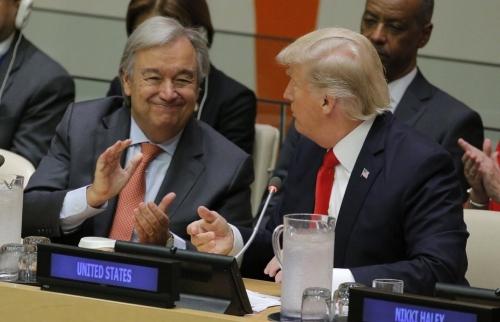الأمم المتحدة: الإتفاق النووي مع ايران نصر دبلوماسي ونحث ترامب بعدم الانسحاب