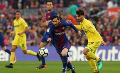 برشلونة يذل فياريال بخماسية ويواصل رقمه القياسي