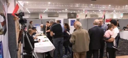 تواصل تصويت الخارج في أستراليا ونيوزلندا وفتح مراكز الاقتراع بإيران