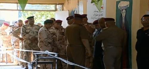 بدء التصويت الخاص للقوات الأمنية