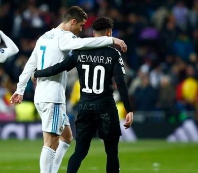 تعليق ساخر لرونالدو عن إنتقال نيمار الى مدريد