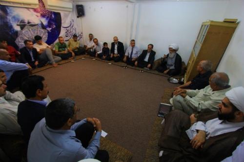 المرجع النجفي: مشكلة العراق تكمن في مظاهر الفساد وعلى المسؤولين انهاء الملف