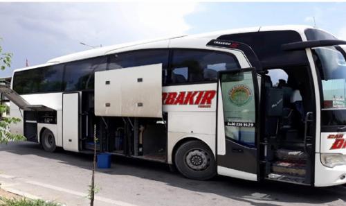 ضبط مواد مخدرة داخل حافلة سياحية في السليمانية