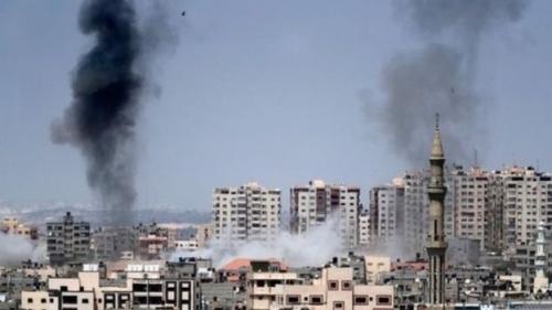 الاحتلال الاسرائيلي يواصل قصف غزة في أعنف هجوم منذ 2014