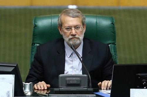 لاريجاني يفوز بولاية ثالثة في رئاسة البرلمان الايراني