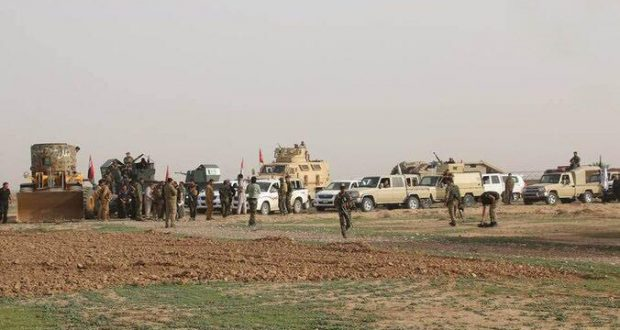 الحشد الشعبي ينهي تفتيش قرى الرشاد ويعثر على ثلاثة انفاق ومضافة لعناصر داعش