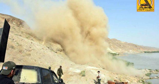 الحشد الشعبي يحبط محاولة تسلل لداعش عبر الاراضي السورية