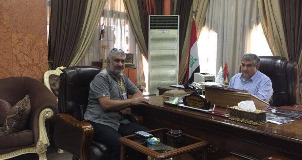 تعاون بين الحشد وامانة بغداد بشأن صور الشهداء وبوسترات الفتوى