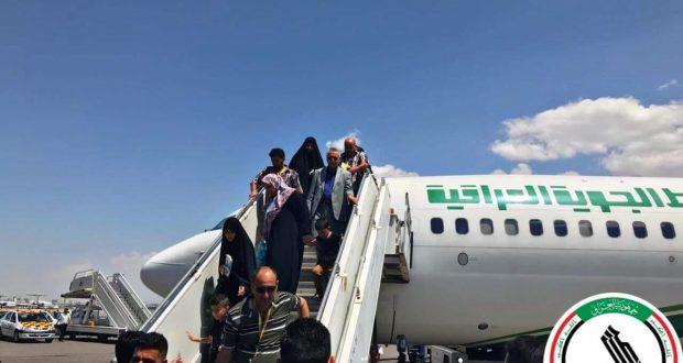 هيئة الحشد تنظم رحلة لذوي الشهداء لزيارة المراقد المقدسة في إيران