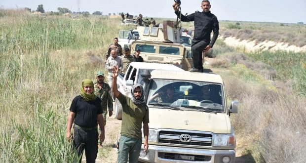 بعملية مشتركة.. اللواء 313 بالحشد والجيش العراقي يقتلان ثلاثة عشر داعشيا غرب سامراء