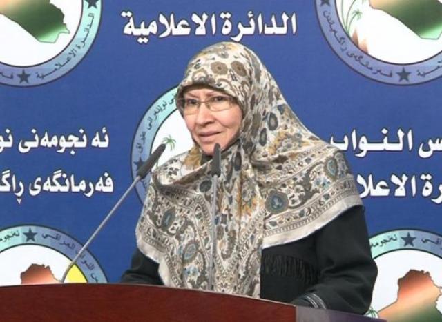 نائبة: قرار الكونغرس بإدراج فصائل عراقية على لائحة الإرهاب إساءة لقواتنا المسلحة