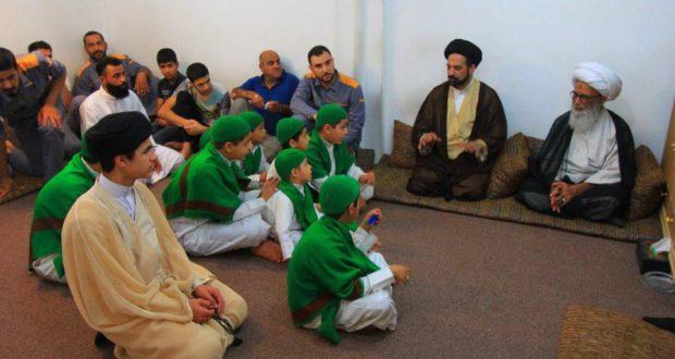 الشيخ النجفي: رعاية أيتام الحشد الشعبي واجب على كل عراقي