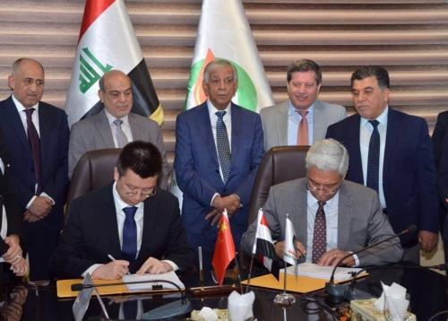 شركتان صينيتان تتولى تطوير حقول حدودية في العراق