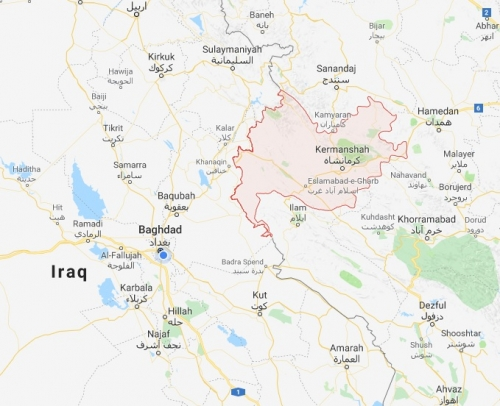 زلزال يضرب محافظة إيرانية محاذية لحدود العراق