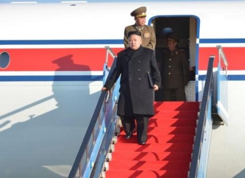 الطائرة الخاصة لزعيم كوريا الشمالية وأخرى للشحن تتوجهان الى سنغافورة