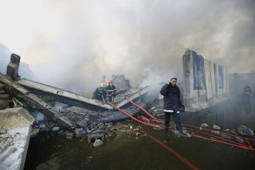 المفوضية: الحريق ألتهم جميع أجهزة تسريع النتائج والتحقق الخاصة بالرصافة