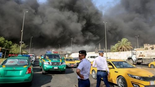 مسؤول أمني: إختفاء حراس مخازن المفوضية بعد الحريق