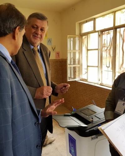 كوبيش يدعو الى تحقيق عاجل في الخروقات الانتخابية ويعرض المساعدة