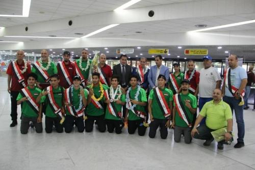الشباب تستقبل أبطال العراق الحاصلين على أوسمة ألعاب قوى آسيا