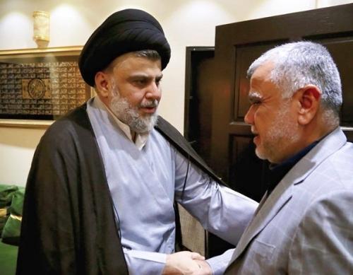 السيد الصدر يعلن تحالف سائرون وفتح مع المحافظة على التحالف الثلاثي