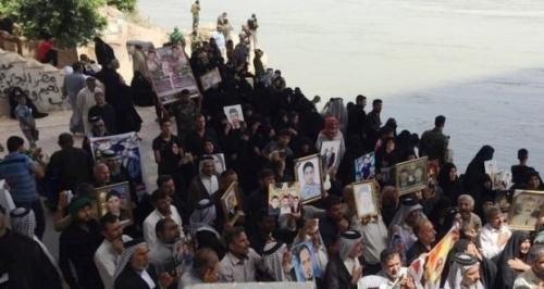ناطقية سبايكر تطالب بفتح مقابر القصور الرئاسية وتنتقد تأخر الصحة بفحص الجثث