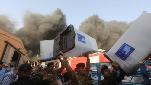 القضاء يرفض التدخل في عمله بالتحقيق في تفجير مدينة الصدر وحريق المفوضية