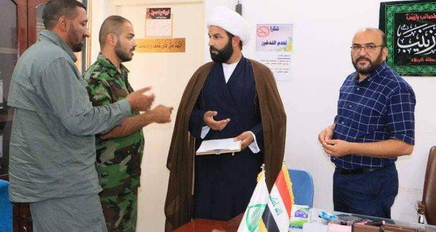 لجنة دعم الحشد في الوقف الشيعي تعلن صرف مساعدات مالية لأكثر من 50 عائلة من ذوي الشهداء