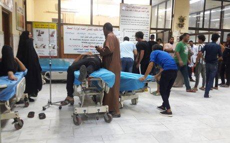 حقوق الإنسان تعلن ارتفاع المصابين بالتسمم في البصرة الى اكثر من 70 ألف حالة