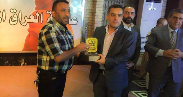 """مديرية التعبئة بالحشد تكرم موظفي أمانة بغداد لمساهمتهم في حملة """"حفظ الأمانة"""""""