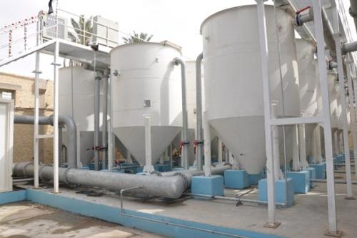 النزاهة تكشف عن ضبط 13 محطة تحلية مياه في البصرة لم يتم تشغيلها منذ 2006