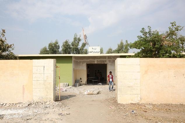 وزارة التخطيط العراقية  تتولى تأهيل  مجموعة من المدارس في المناطق المحررة