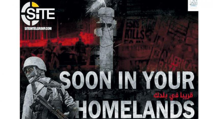 داعش يطلق تحذيرات دموية جديدة ضد الغرب من خلال ملصق دعائي على الانترنت