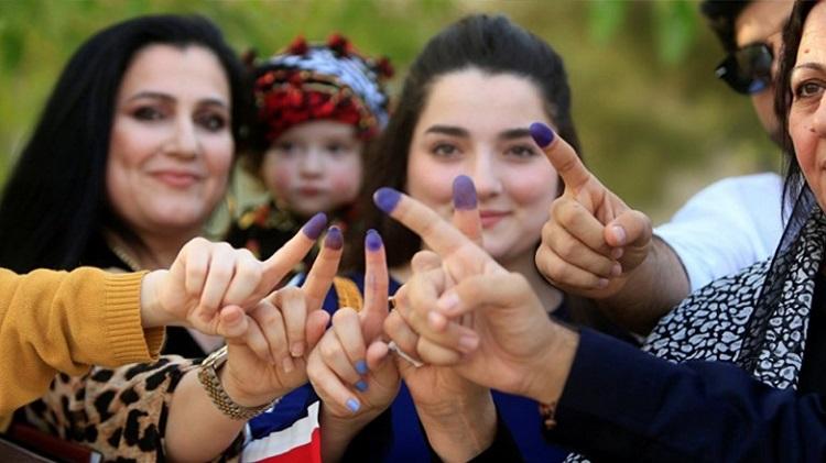 تحليل يظهر حصول حزبي السلطة في الاقليم على 32% من الاصوات فقط