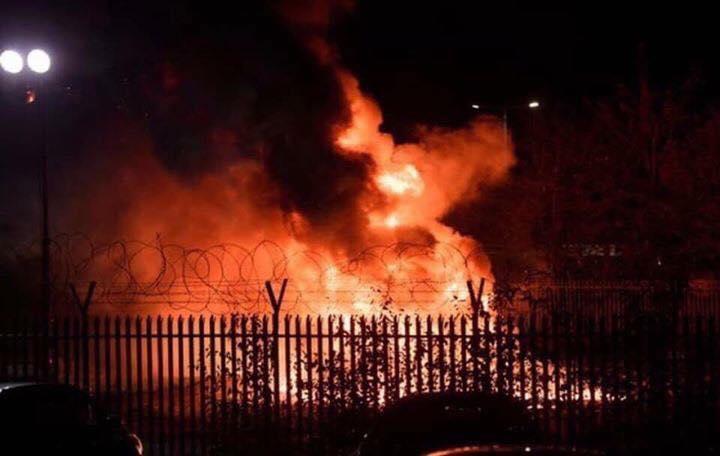 تحطم طائرة مالك نادي ليستر سيتي الانكليزي خارج ملعبه