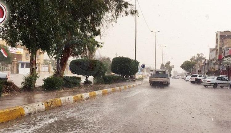 استمرار الحالة المطرية لمنتصف الشهر المقبل