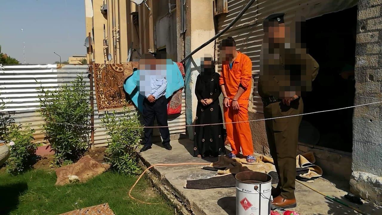 القبض على قاتل زوج عشيقته بالتعاون معها في بغداد