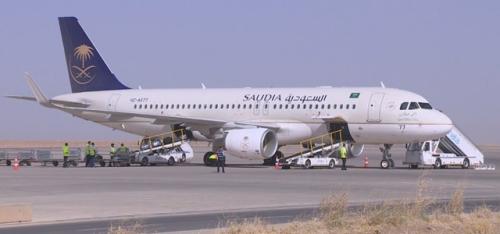 الخطوط الجوية السعودية تدشن رحلاتها المباشرة إلى أربيل