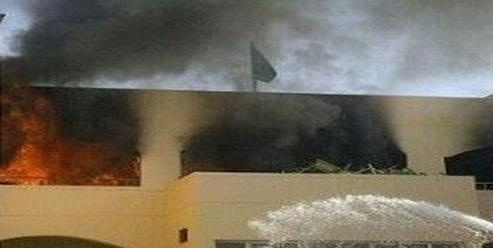 حريق يلتهم مدرسة بالكامل في ذي قار