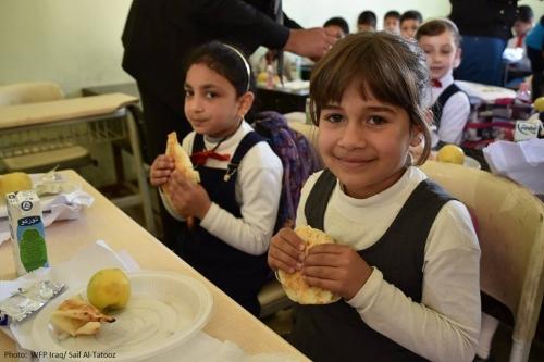 الغذاء العالمي يستعد لإطلاق الوجبة المدرسية في عموم العراق