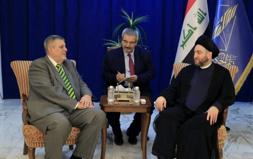السيد عمار الحكيم وكوبيش يبحثان تشكيل الحكومة وسبل دعمها