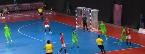 منتخب الصالات يخسر أمام مصر في بطولة بنما